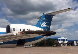 Нападение на самолет авиакомпании «Днеправиа»!