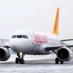 Открытие рейсов Pegasus Airlines из Киева
