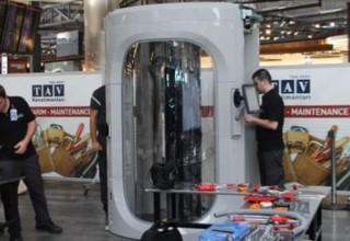В трех аэропортах Турции появятся сканеры тела