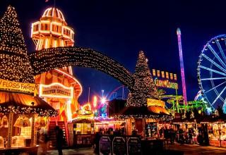 Отправьтесь на фестиваль Winter Wonderland в Лондон с Pegasus Airlines!