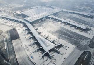 Новый аэропорт Стамбула принял первый самолет
