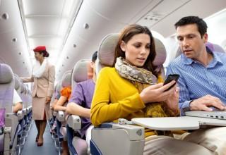 Интернет в небе: какие авиакомпании в Украине позволяют выходить в сеть через Wi-Fi